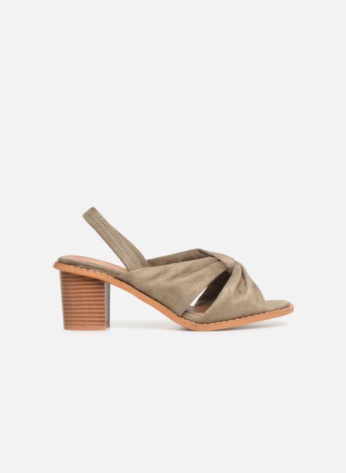 Sandales et nu-pieds Vanessa Wu SD1700 Vert vue derrière
