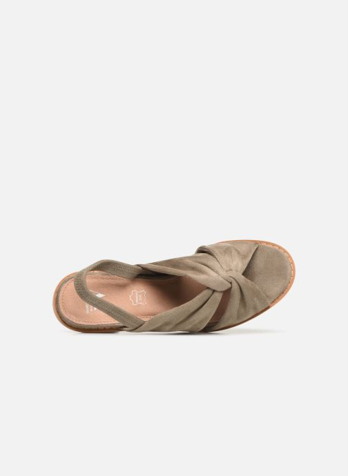 Sandales et nu-pieds Vanessa Wu SD1700 Vert vue gauche