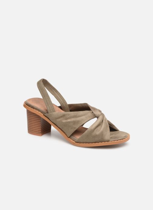 Sandales et nu-pieds Vanessa Wu SD1700 Vert vue détail/paire