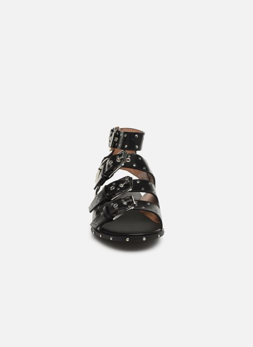 Sandales et nu-pieds Vanessa Wu SD1799 Noir vue portées chaussures