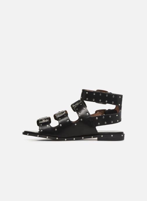 Sandales et nu-pieds Vanessa Wu SD1799 Noir vue face