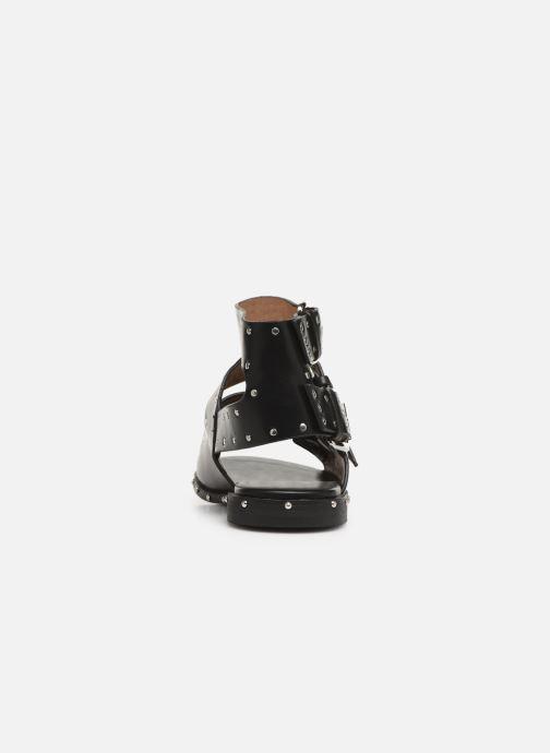 Sandales et nu-pieds Vanessa Wu SD1799 Noir vue droite