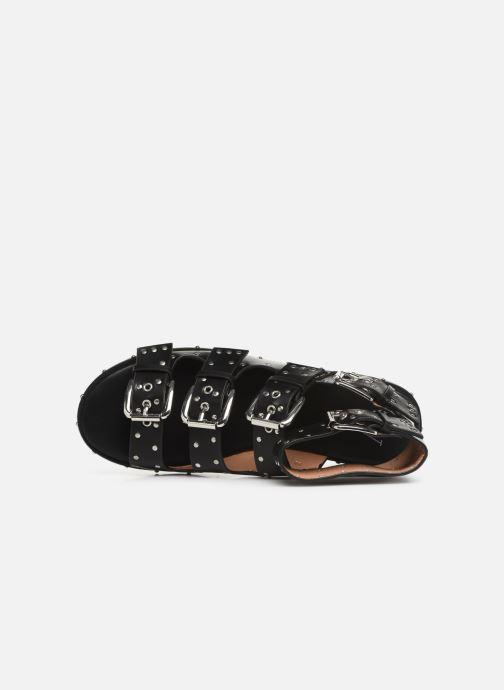 Sandales et nu-pieds Vanessa Wu SD1799 Noir vue gauche
