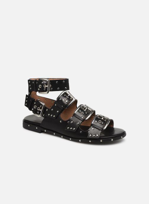 Sandales et nu-pieds Vanessa Wu SD1799 Noir vue détail/paire