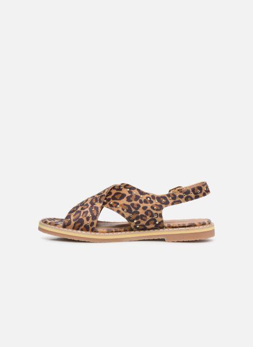 Sandales et nu-pieds Vanessa Wu SD1898 Marron vue face