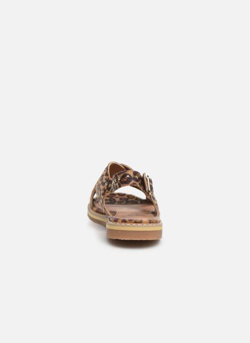 Sandales et nu-pieds Vanessa Wu SD1898 Marron vue droite