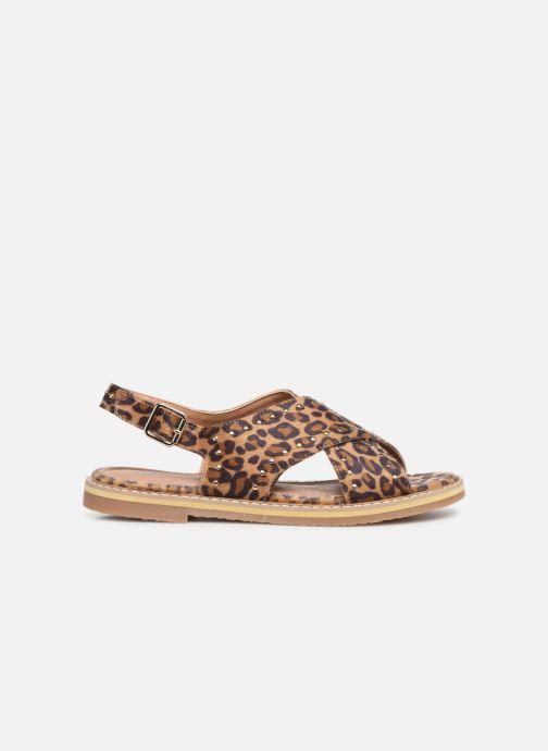Sandales et nu-pieds Vanessa Wu SD1898 Marron vue derrière
