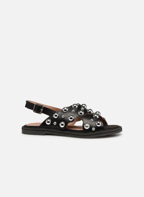 Sandales et nu-pieds Vanessa Wu SD1899 Noir vue derrière
