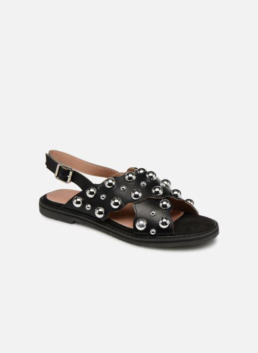 Sandales et nu-pieds Vanessa Wu SD1899 Noir vue détail/paire