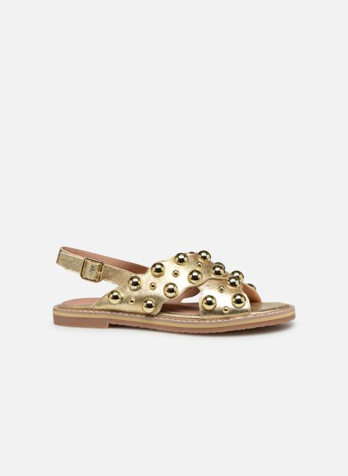 Sandales et nu-pieds Vanessa Wu SD1899 Or et bronze vue derrière