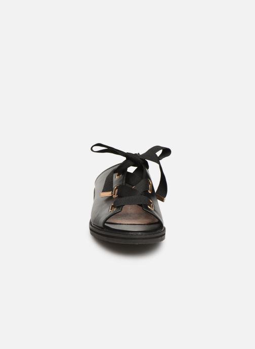 Mules & clogs Vanessa Wu SD1900 Black model view