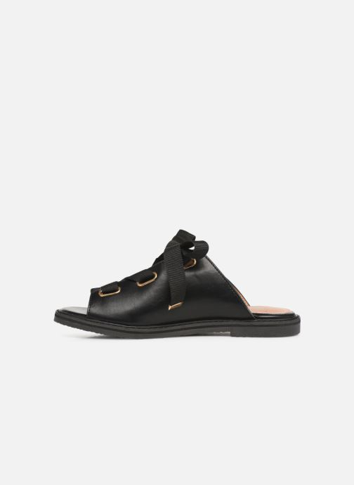 Mules & clogs Vanessa Wu SD1900 Black front view