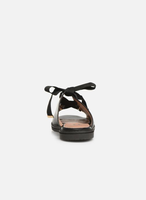 Mules & clogs Vanessa Wu SD1900 Black view from the right
