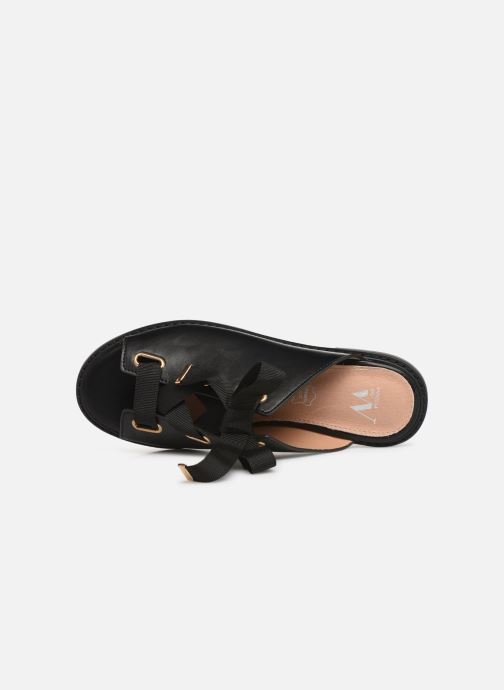 Mules & clogs Vanessa Wu SD1900 Black view from the left