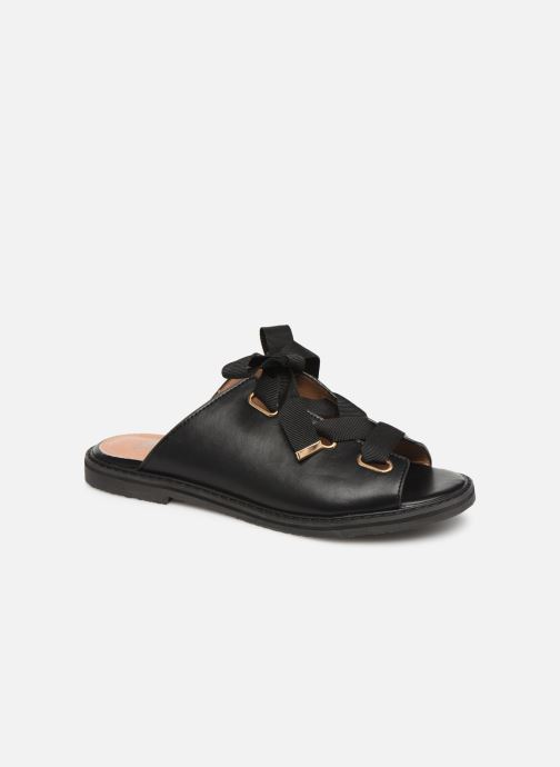 Mules & clogs Vanessa Wu SD1900 Black detailed view/ Pair view