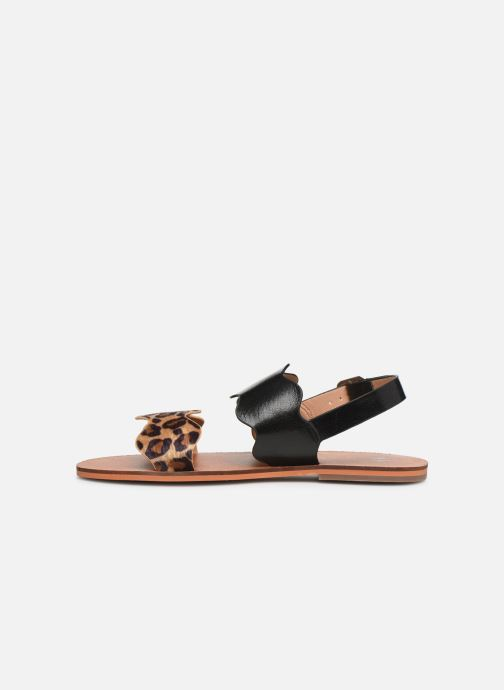Sandals Vanessa Wu SD1903 Black front view