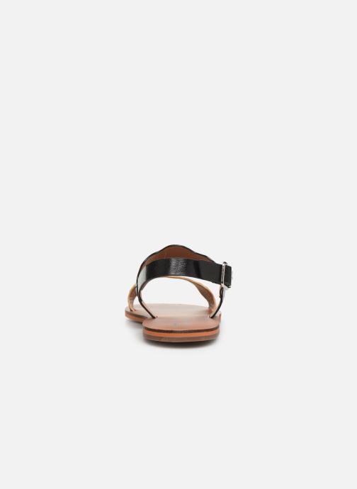 Sandals Vanessa Wu SD1903 Black view from the right