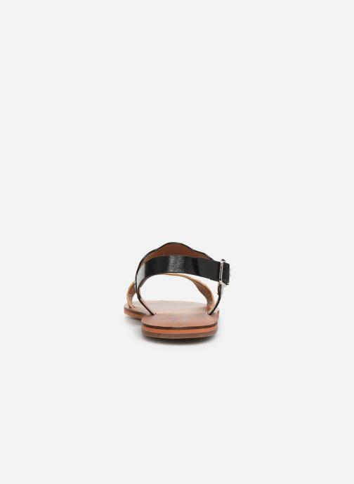 Sandales et nu-pieds Vanessa Wu SD1903 Noir vue droite