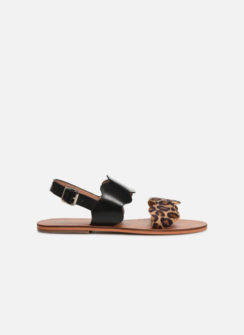 Sandals Vanessa Wu SD1903 Black back view
