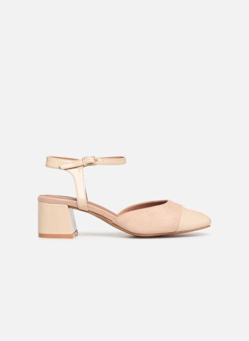 Sandales et nu-pieds Vanessa Wu SD1906 Beige vue derrière