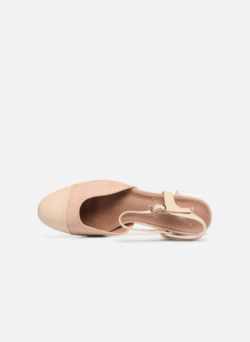 Sandales et nu-pieds Vanessa Wu SD1906 Beige vue gauche