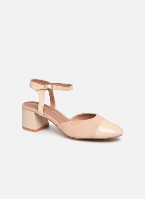 Sandales et nu-pieds Vanessa Wu SD1906 Beige vue détail/paire