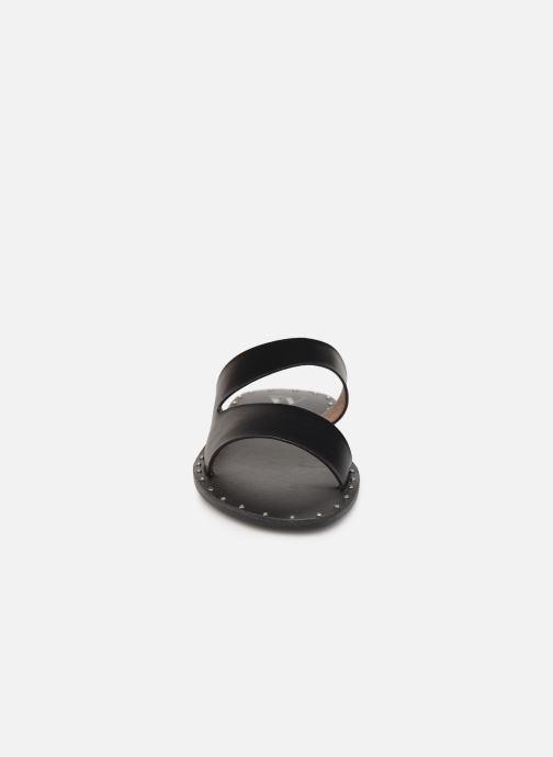 Mules et sabots Vanessa Wu SD1937 Noir vue portées chaussures