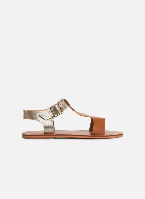 Sandals Vanessa Wu SD1938 Brown back view