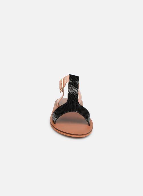Sandales et nu-pieds Vanessa Wu SD1938 Noir vue portées chaussures