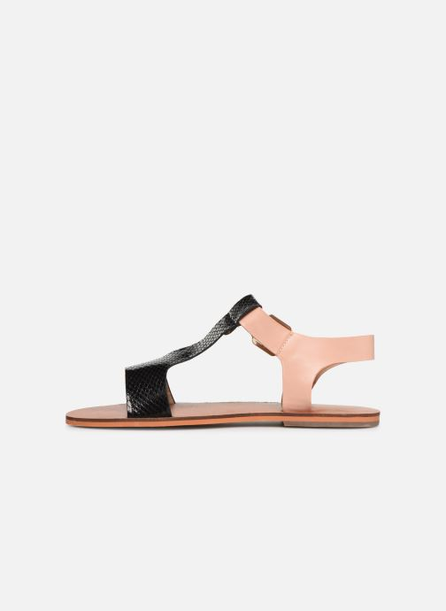 Sandals Vanessa Wu SD1938 Black front view