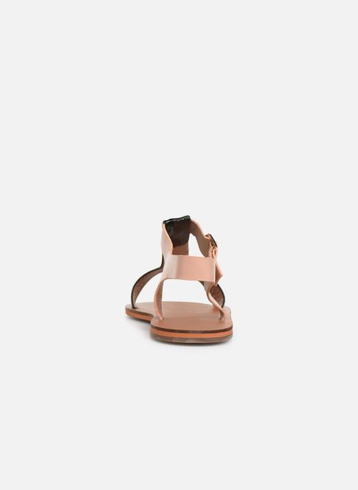 Sandales et nu-pieds Vanessa Wu SD1938 Noir vue droite