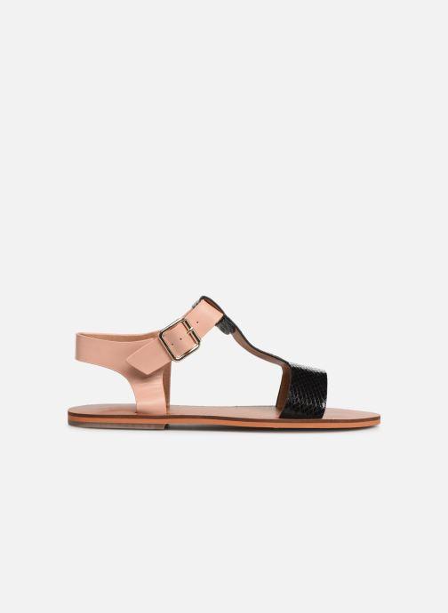 Sandales et nu-pieds Vanessa Wu SD1938 Noir vue derrière