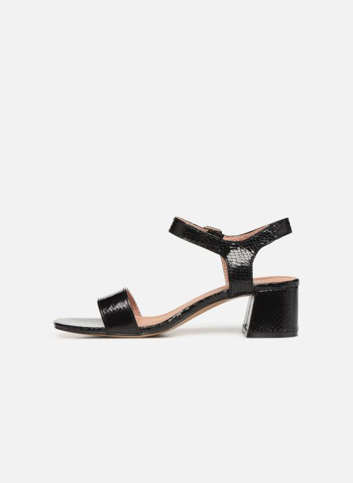 Sandales et nu-pieds Vanessa Wu SD1939 Noir vue face