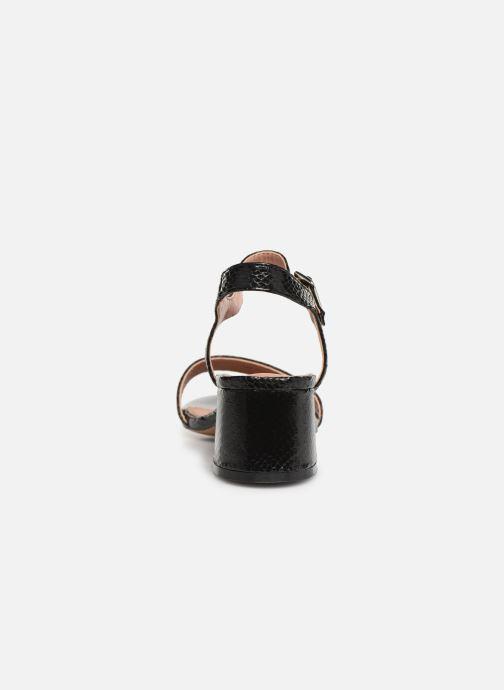 Sandales et nu-pieds Vanessa Wu SD1939 Noir vue droite