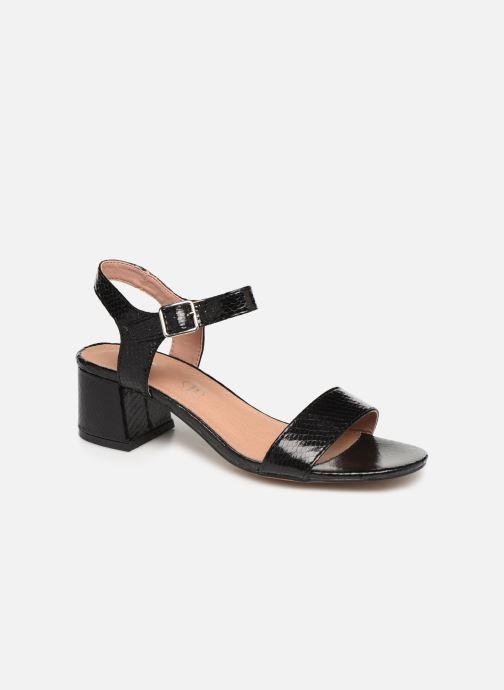 Sandales et nu-pieds Vanessa Wu SD1939 Noir vue détail/paire