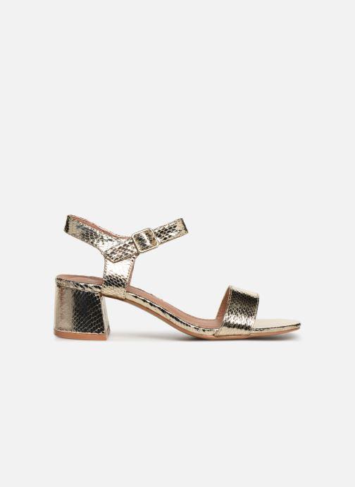 Sandales et nu-pieds Vanessa Wu SD1939 Or et bronze vue derrière