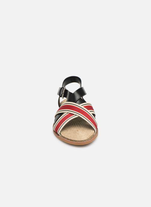 Sandaler Vanessa Wu SD1946 Röd bild av skorna på