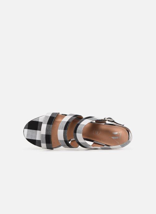 Sandales et nu-pieds Vanessa Wu SD1948 Noir vue gauche