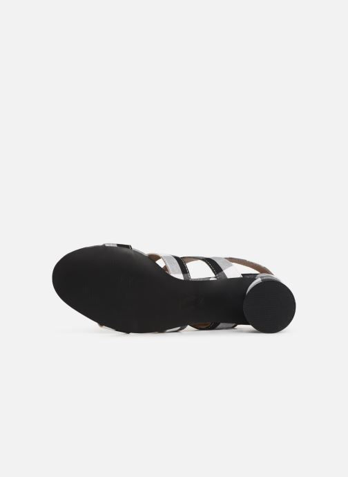 Sandales et nu-pieds Vanessa Wu SD1948 Noir vue haut