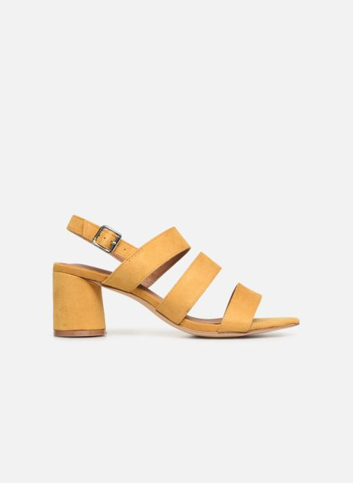 Sandals Vanessa Wu SD1948 Yellow back view