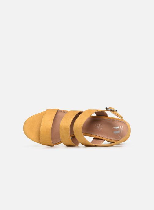Sandali e scarpe aperte Vanessa Wu SD1948 Giallo immagine sinistra