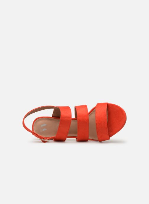 Sandals Vanessa Wu SD1948 Orange view from the left