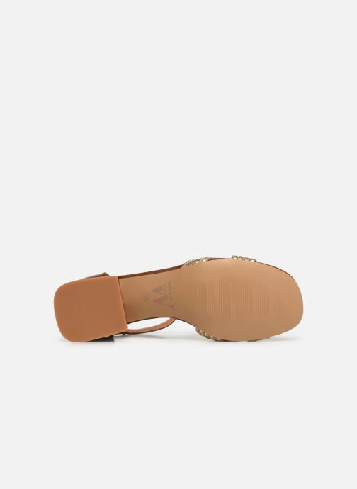 Sandales et nu-pieds Vanessa Wu SD1952 Marron vue haut