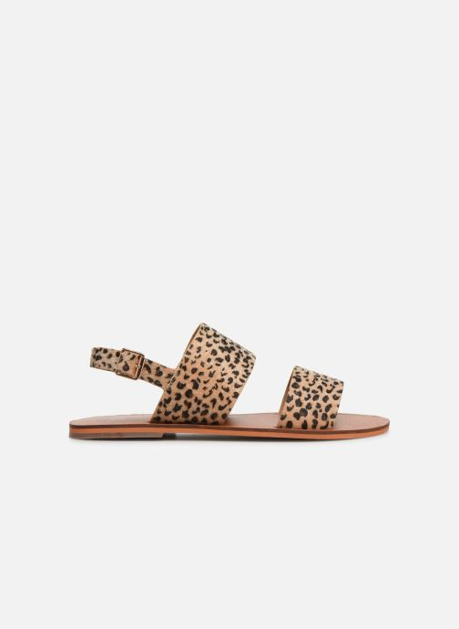 Sandals Vanessa Wu SD1955 Brown back view