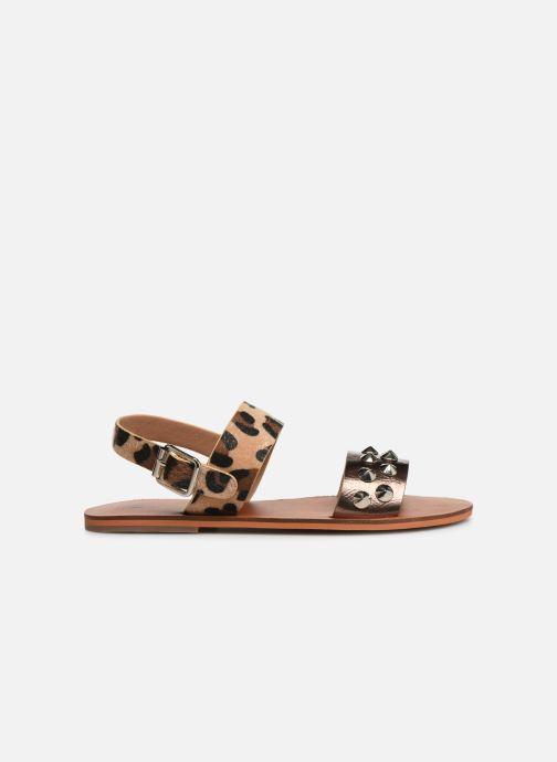 Sandales et nu-pieds Vanessa Wu SD1956 Or et bronze vue derrière