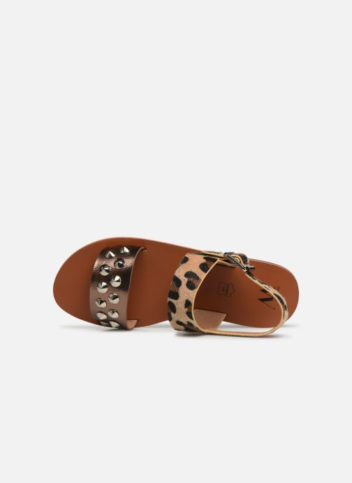 or Bronze Wu pieds 368619 Sd1956 Sandales Et Vanessa Nu Chez nF4qpaw