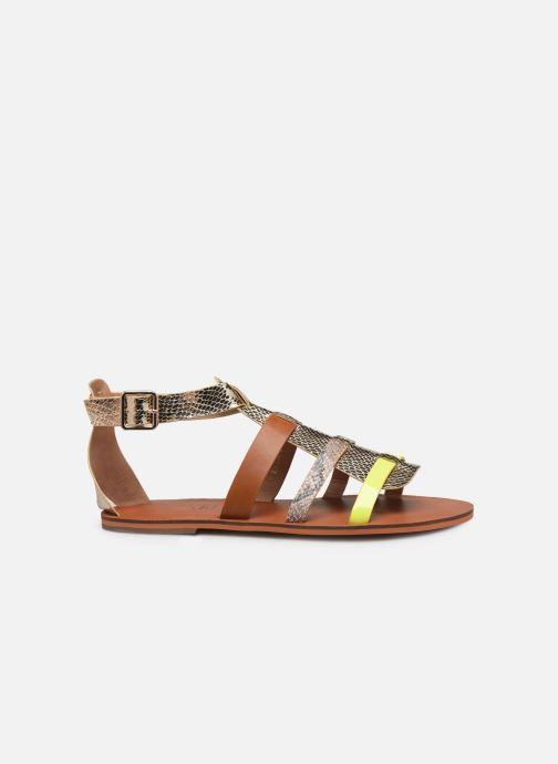 Sandales et nu-pieds Vanessa Wu SD1957 Or et bronze vue derrière