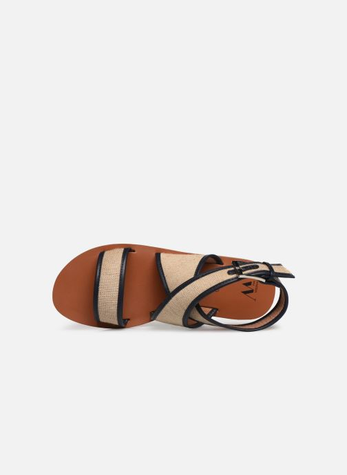 Sandals Vanessa Wu SD1958 Beige view from the left