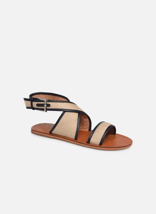Sandales et nu-pieds Vanessa Wu SD1958 Beige vue détail/paire