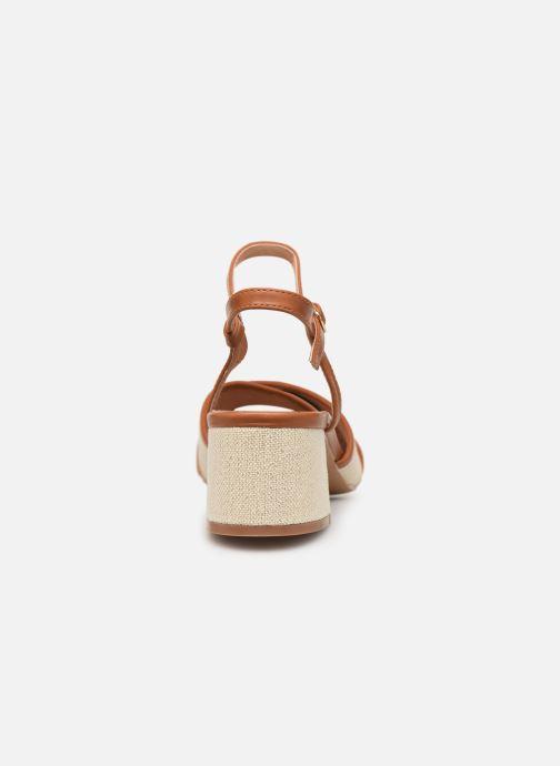 Sandales et nu-pieds Vanessa Wu SD1962 Beige vue droite